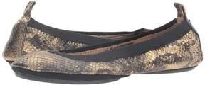 Yosi Samra Samara Python Lame Women's Shoes