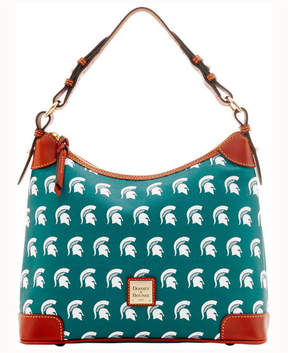 Dooney & Bourke Michigan State Spartans Hobo Bag - GREEN - STYLE