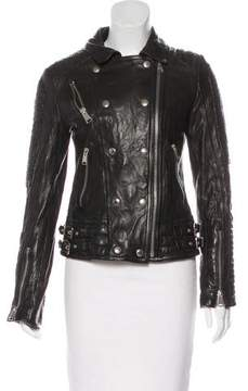 Anine Bing Leather Moto Jacket