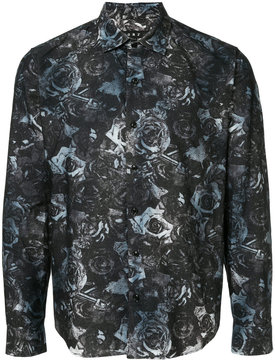 Roar rose print shirt