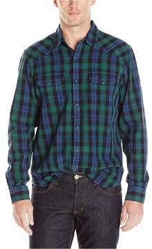 Lucky Brand Mens Plaid Button Up Shirt
