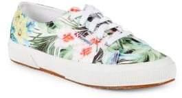 Superga Raso Tropical-Print Sneakers