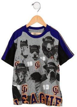 John Galliano Boys' Graphic Short Sleeve Shirt