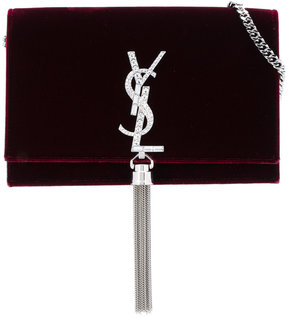 Saint Laurent Mongram clutch - RED - STYLE