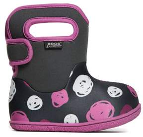 Bogs Kids' Baby Sketched Dots Winter Boot Toddler