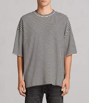 AllSaints Torny Stripe Crew Sweatshirt