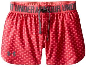Under Armour Kids Printed Play Up Shorts Girl's Shorts