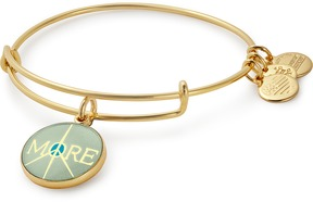Alex and Ani More Peace Charm Bangle