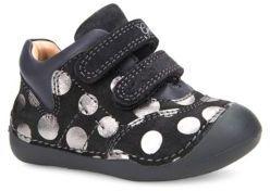 Geox Baby's Tutim Suede Low Top Sneakers