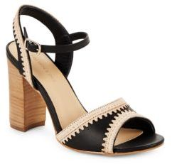 Saks Fifth Avenue Leather Open-Toe Ankle-Strap Sandals