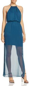 WAYF Sheer-Hem Dress - 100% Exclusive