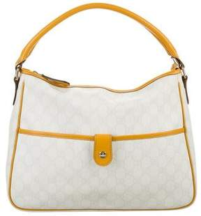 Gucci GG Plus Joy Hobo - WHITE - STYLE