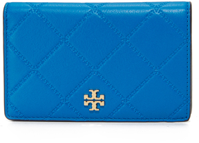 Tory Burch Georgia Slim Medium Wallet - GALLERIA BLUE - STYLE