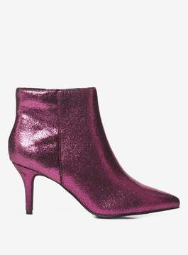 Dorothy Perkins Pink 'Aruba' Heeled Ankle Boots