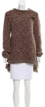 Brunello Cucinelli Cashmere Embellished Sweater w/ Tags