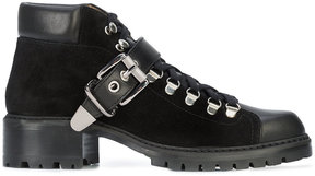 Barbara Bui buckle strap ankle boots