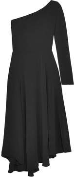 Vanessa Bruno Hestia One-shoulder Crepe Midi Dress - Black