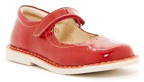 Naturino Topstitched Leather Mary-Jane Flat (Toddler & Little Kid)