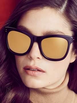 Linda Farrow Luxe Women's 24K Gold D-Frame