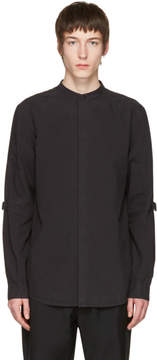 Helmut Lang Black Elbow Strap Shirt