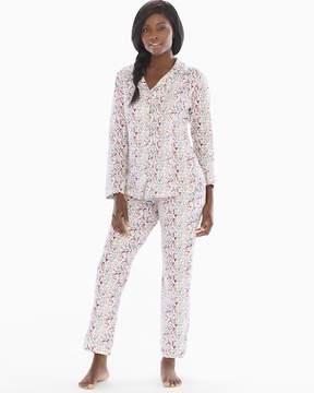 BedHead Knit Cotton-Blend Pajama Set