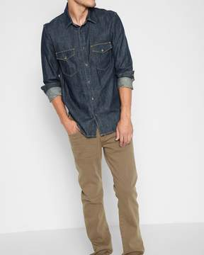 7 For All Mankind Luxe Performance Colored Denim: The Straight in Sand