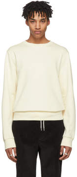 Maison Margiela Ivory Elbow Patch Sweatshirt