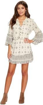 BB Dakota Andee Mixed Print Dress Women's Dress