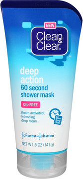 Clean & Clear Deep Action 60 Second Oil Free Shower Mask