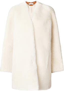 Chloé oversized shearling coat