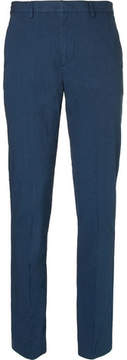 Folk Counter Slim-Fit Tapered Stretch-Cotton Suit Trousers