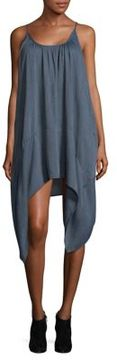 Noisy May Evelyn Asymmetrical Crepe Dress
