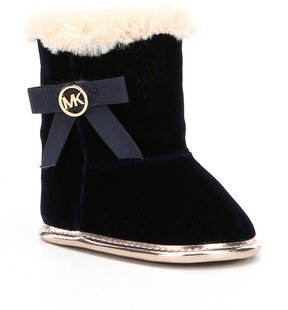 MICHAEL Michael Kors Girls Baby Sweet Crib Shoe Booties