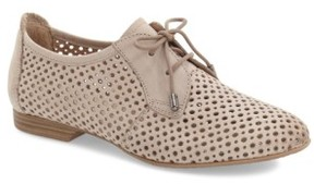Tamaris Women's 'Drene' Perforated Oxford