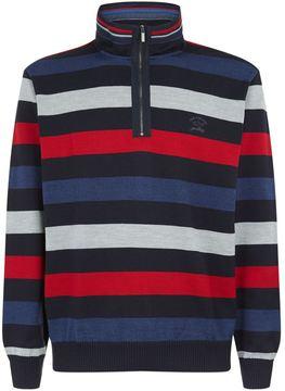 Paul & Shark Knitted Zip-Up Sweater