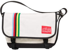 Manhattan Portage Rainbow Stripes Vintage Jr. Messenger Bag