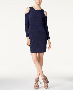 Bar III Cold-Shoulder Sheath Dress, Created for Macy's