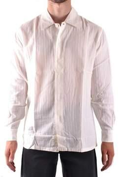 Armani Collezioni Men's White Cotton Shirt.