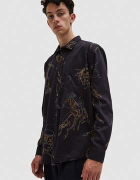 Our Legacy Initial Shirt Rodeo Black Print