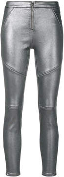CK Calvin Klein coated trousers