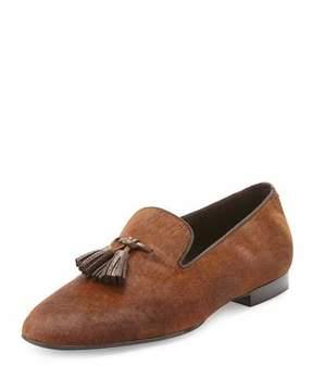 Tom Ford Chesterfield Calf Hair Tassel Loafer