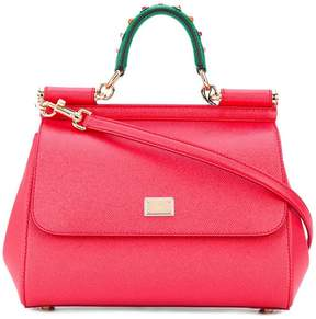 Dolce & Gabbana small Sicily shoulder bag - RED - STYLE