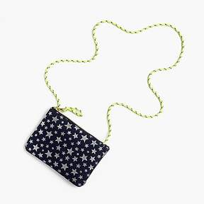 J.Crew GIrls' star-printed pouchette