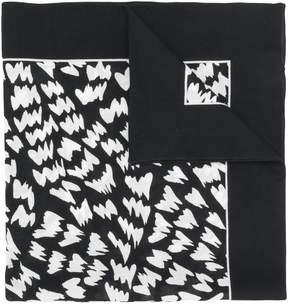 Dolce & Gabbana abstract print bandana scarf