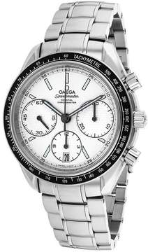 Omega O32630405002001 Men's Speedmaster Silver Stainless Steel Chronograph Watch