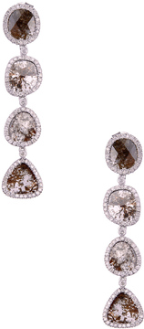 Artisan Women's Slice Diamond Earrings
