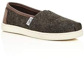 Toms Boys' Classic Slip-On Sneakers - Toddler, Little Kid, Big Kid