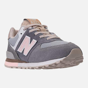 New Balance Girls' Preschool 574 Casual Shoes