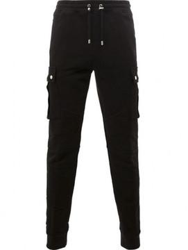 Balmain biker jogging trousers