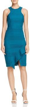 Adelyn Rae Bianca Geometric Lace Dress